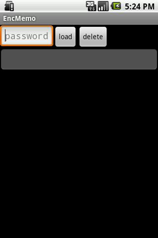 EncMemo(暗号化保存メモ)