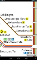 Screenshot of Berlin Metro (U-Bahn) Map Free