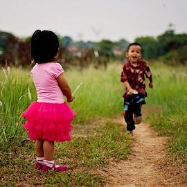 Ali & Ara by Mursyid Alfa - Babies & Children Children Candids