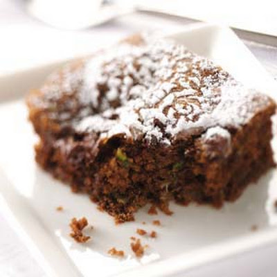 Zucchini Chip Chocolate Cake