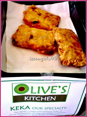 KEKA! Savory fried pockets of meat with shitake mushrooms. Mmm good!