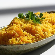 Saffron Steamed Plain Basmati Rice