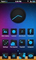 Screenshot of Vapor Ice (Icon Pack) HD *FREE