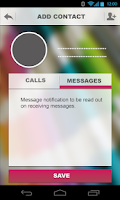 Screenshot of Infoner - missed call app