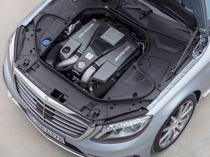 Mercedes-Benz S63 AMG Engine