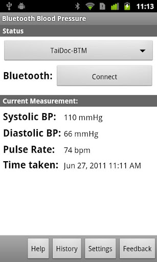 Bluetooth Blood Pressure