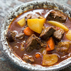 Short-Rib Beef Stew with Ale