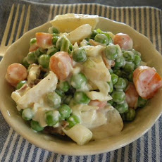 Pea and Water Chestnut Salad