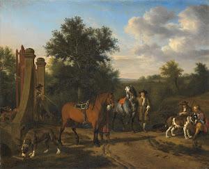 RIJKS: Adriaen van de Velde: painting 1669