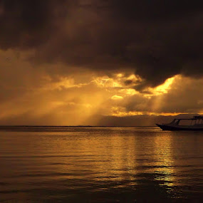 Boat n ROL by Erwan Setyawan - Landscapes Sunsets & Sunrises