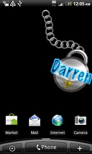 Darren Name Tag