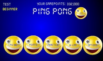 Screenshot of Ping Pong Smile