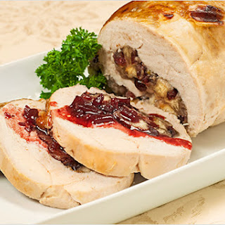 Boneless Cranberry-Stuffed Turkey Breast