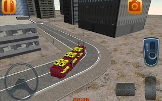 Screenshot of Car Transporter Parking Game