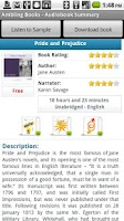Screenshot of Ambling BookPlayer Personal