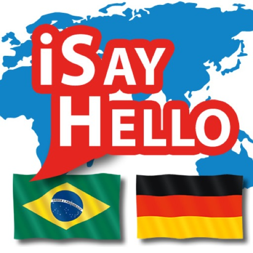iSayHello 葡萄牙语/拉丁语 - 德语 LOGO-APP點子