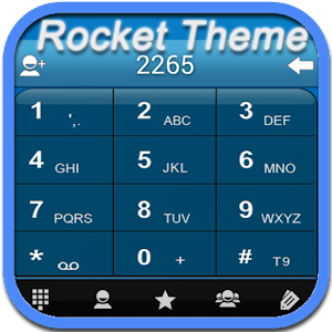 RocketDial Theme C Blue (HD)