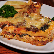 Spinach Lasagna (Easy No-Boil Method)