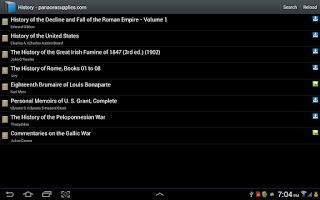 Screenshot of Free books to download & read