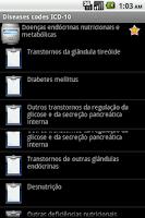 Screenshot of ICD-10