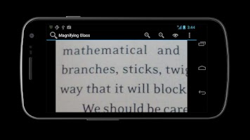 Screenshot of Magnifying Glass