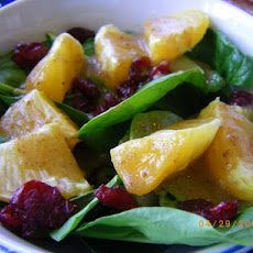 Spinach and Tangerine Salad