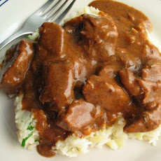 Yum-O Stewed Beef in Smoky Mustard Sauce