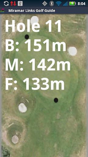 Golf GPS Rangefinder Miramar