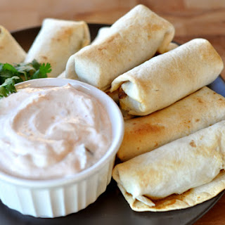 Baked Southwest Egg Rolls with Creamy Chipotle Dipping Sauce