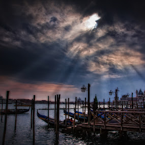Venice by Vasja Pinzovski - City,  Street & Park  Vistas