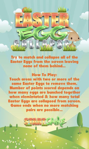 Easter Eggs Puzzle Kids Game
