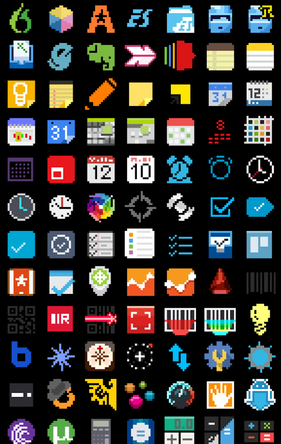 8-BIT Icon Theme Screenshot 7