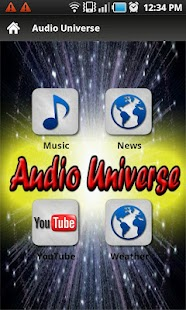Audio Universe - screenshot