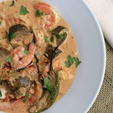 Spicy Goan Shrimp Curry With Eggplant