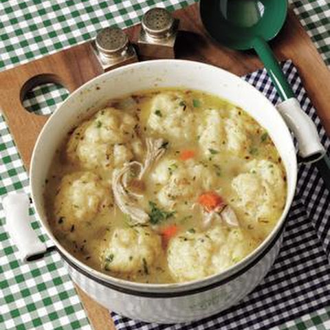 Classic Chicken and Dumplings