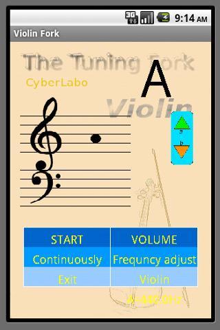 バイオリン音叉