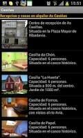 Screenshot of Tourism Spain. As Casiñas