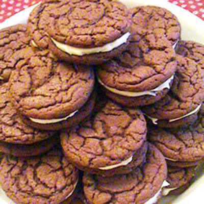 Homemade Chocolate Sandwich Cookies