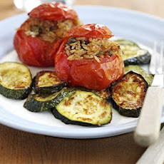 Stuffed Summer Tomatoes