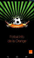 Screenshot of Fotbal Info de la Orange