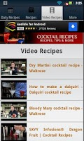 Screenshot of Cocktail Recipes!