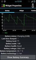 Screenshot of Dual Battery Widget