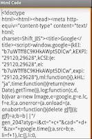 Screenshot of HtmlCodeHack