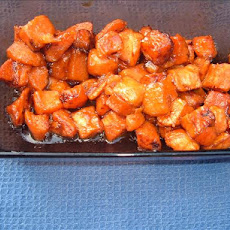 Dry-Curry Sweet Potatoes