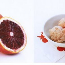 Blood Orange Ice Cream