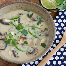 Coconut-Lime Tofu Soup