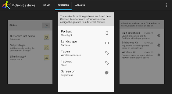 App Motion Gestures apk for kindle fire | Download Android ...