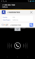 Screenshot of Block calls & search phone