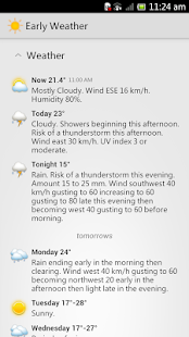Canada Weather - EarlyWeather - screenshot