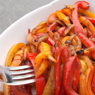 Caramelized Onions and Bell Peppers